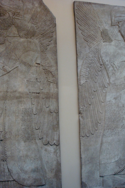 The British Museum lacks some Assyrian reliefs to complete their set. Maybe they could ask the Hood...