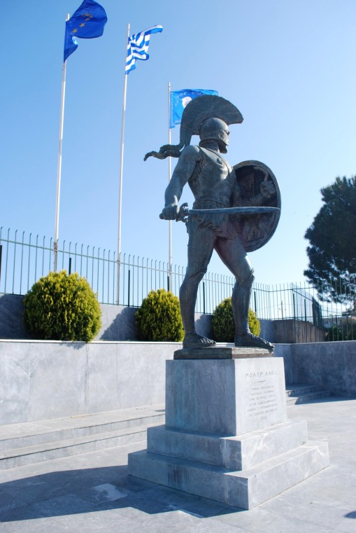 Statue of Leonidas in Sparta.