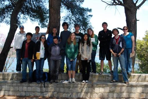 Group photo at Marathon lake.