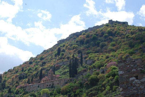 The citadel at Mistras.
