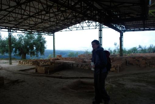 Ally explores the site of Pylos.