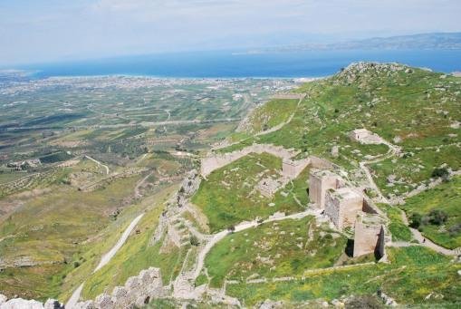 Vista of Acrocorinth