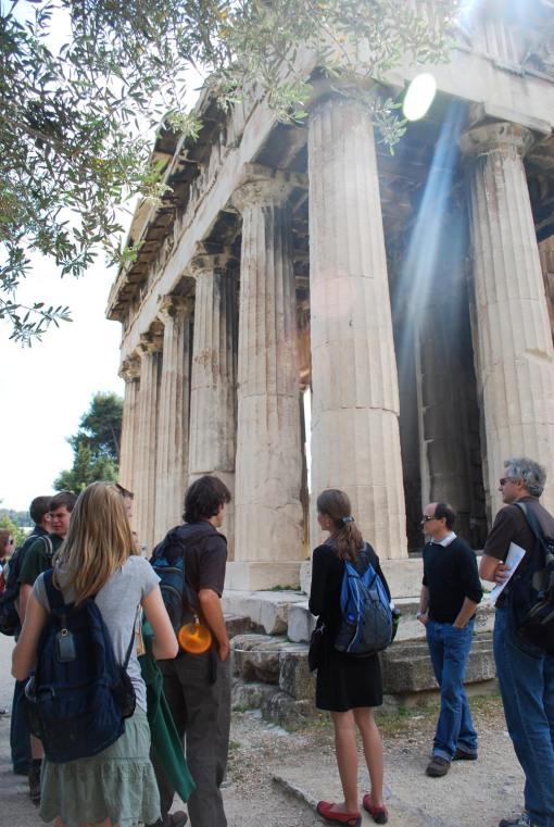 At the Hephaisteion