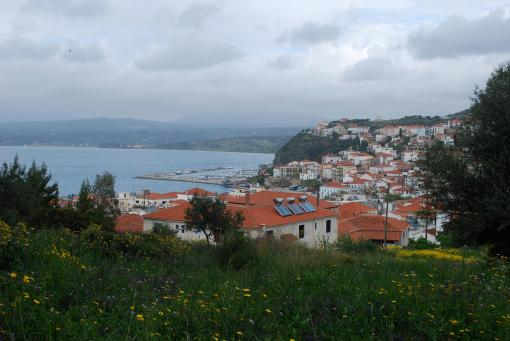 Pylos from the fortress.