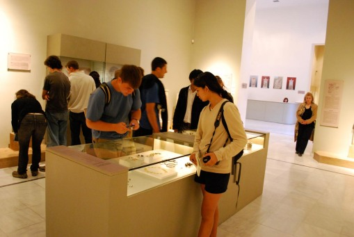 Exploring the Classical and Hellenistic remains from Demetrias and Pagasae in the Volos museum.