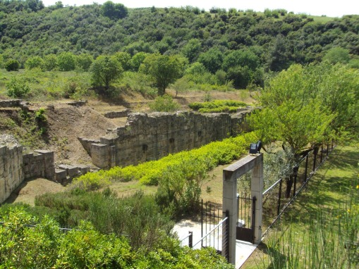 Walls at Amphipolis