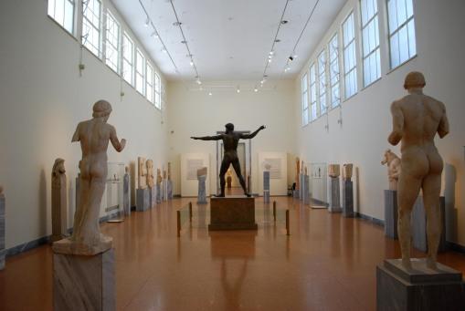The sculpture galleries.