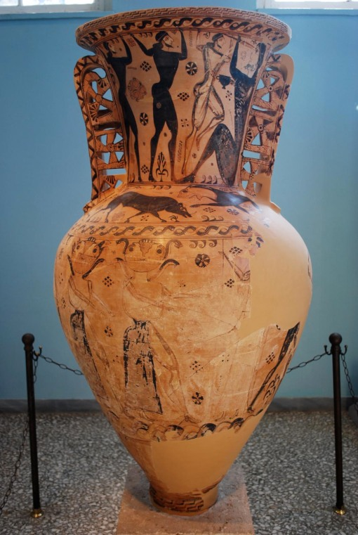 "Oh Eleusis amphora - look how ""Nobody"" blinds Polyphemus!"