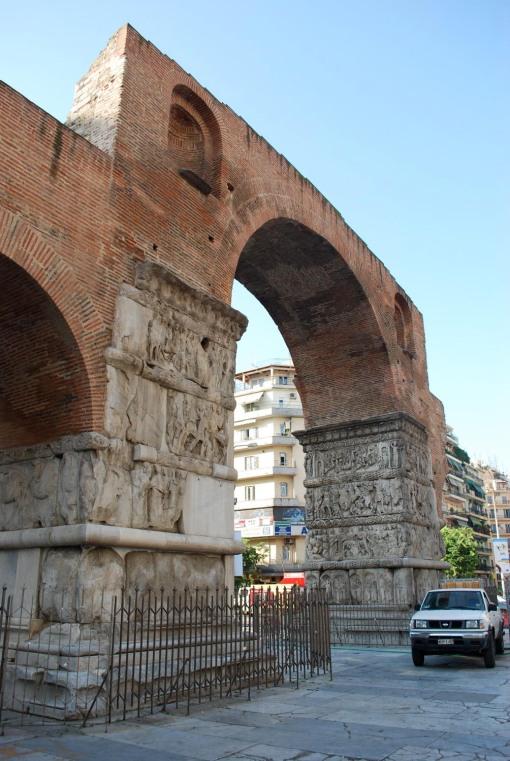 The arch of Galerius.