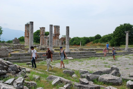 The forum at Philippi.