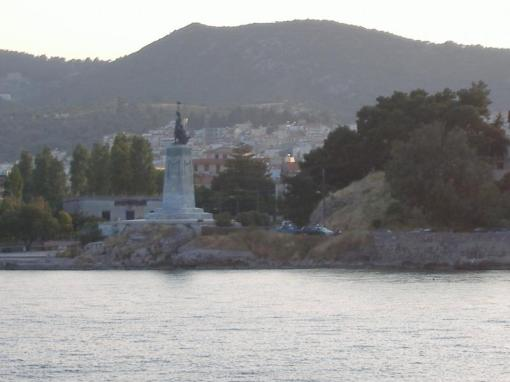Approach to Mytilini on Lesvos.