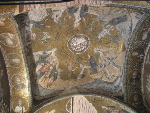 Mosaics at the Chora Church.