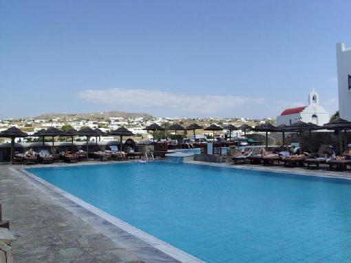 Hotel pool!