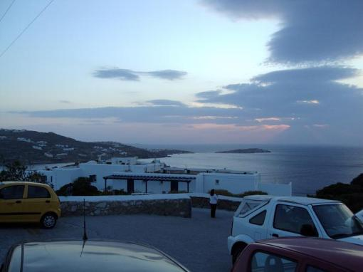 Sunset at Mykonos