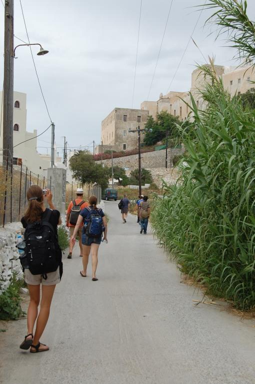 Kathryn spots the Kastro through the urban overgrowth!