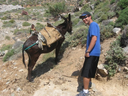 Benghis Kahn and his trusted war-donkey