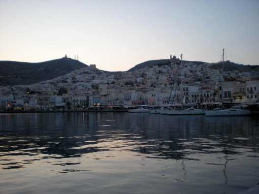 Port at Syros